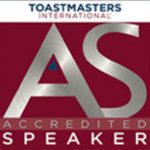 accredited speaker logo toastmasters international