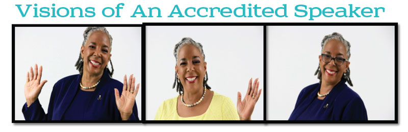 Tamara Smiley Hamilton's Visons of Being an Accredited Speaker