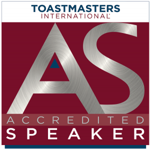 Toastmasters Accredited Speaker